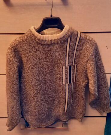 Тёплый свитерок на мальчика до 5 лет хорошее состояние