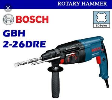 Bakı şəhərində Drel- perforator bosch gbh 2-26 dke  hammerdril - profesional. Təzə
