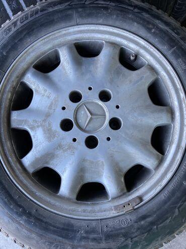 Продаю диски R15 с резиной bridgestone размер резины 195/65/R15