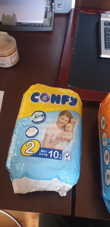 """подгузники хаггис в Кыргызстан: Оптом!!! Детские подгузники """"confy""""  памперсы фирмы confy удобные, мя"""