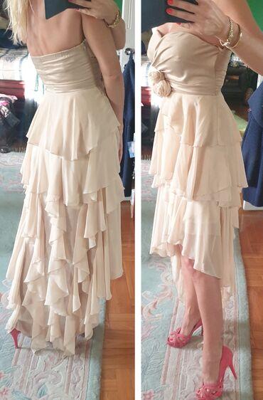 Duga haljina - Srbija: MAX MARA svecana haljina kao vencanica. Vecernja, za posebne prilike