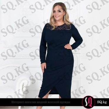 Изящное платье по фигуре, подчеркивающие аппетитные изгибы черного