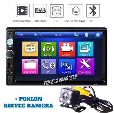 Auto Radio Multimedija Mp3,Usb,Tf, FM Touch Screen Bluetooth + Poklon - Beograd