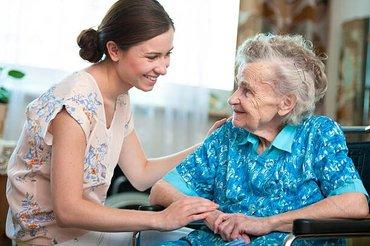 Забота и уход за пожилыми: в Бишкек