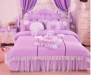 Красивое постельное белье на кровать в Бишкек