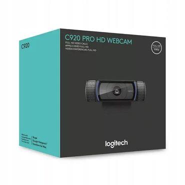 сколько стоит камера для велосипеда в Кыргызстан: Веб-камера Logitech c 920 PRO