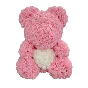 Мишка из роз бишкек, мишка из розы купить, мишка из роз КЫРГЫЗСТАН+