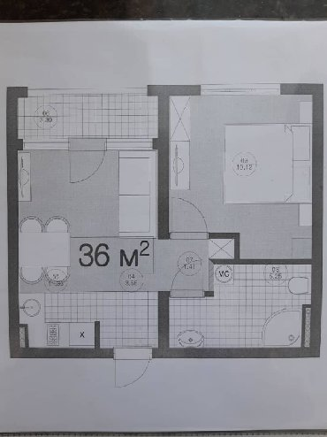 """Ц0 """"Радуга"""" с.Сары Ой Иссык-Куль 5-этажный корпус Стены кирпич Лифт 3"""