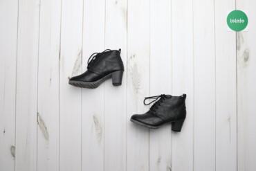 Женская обувь - Украина: Жіночі черевики на підборах р.37    Висота каблука: 6 см Висота халяви