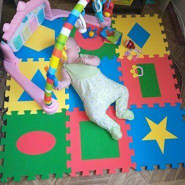 Выбираем обучающий детский коврик  Начиная с 3х месяцев, коврик для ре