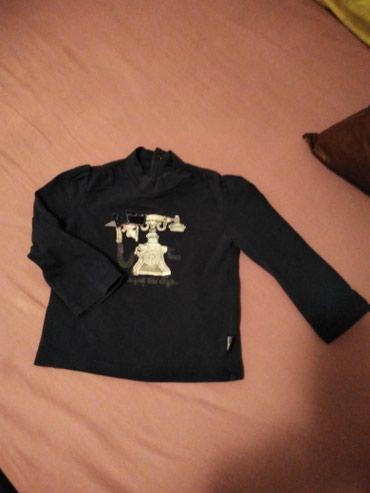 Cetiri majice - Srbija: Majice za devojcice veli ina 80,bez ostecenja, cena za sve cetiri