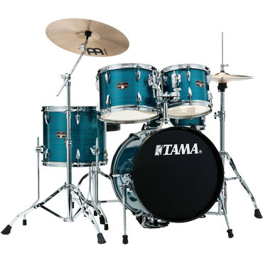 Μουσικά όργανα - Ελλαδα: TAMA IP58NCHLB Imperialstar 5-Piece Drum Set with Cymbals (18 Bass