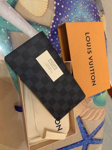 louis vuitton klatch в Кыргызстан: Абсолютно новый Мужской 100% оригинальный кошелёк Louis Vuitton