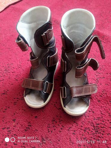 Детский мир - Казарман: Ортопедические обувь кожаные почти новый. только дома ходил в 2