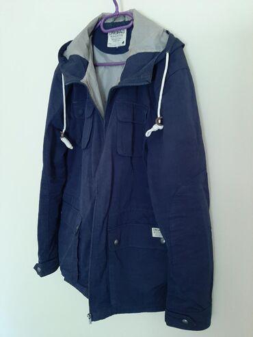 JACK JONES muska jakna. Vel XL. Teget mastilo boja. Kvalitetno