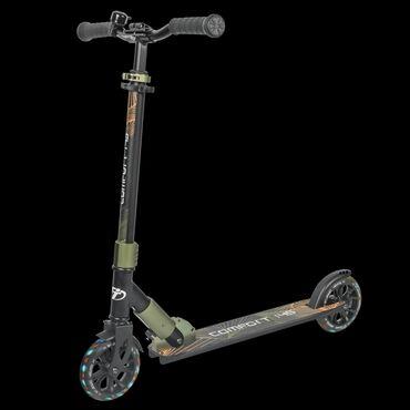 Самлкат со светящимися колёсами Comfort 145R Lux модель городского