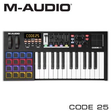 Миди-клавиатура:M-Audio Code 25 – это профессиональная