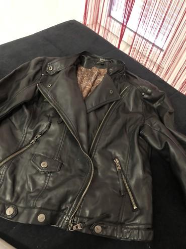 Jaknica eko koza - Srbija: Zenska jaknica od eko kozenosena vrlo malo,bez sotecenja,velicina XL