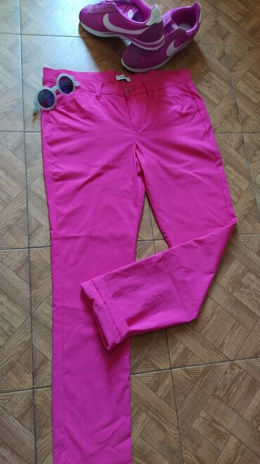 Pink pantalone - Srbija: Pink c&a pantalone,oprane samo,pune elastina