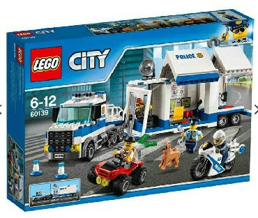 NOVO!!!!! Lego city 60139 Mobile command center Subotica