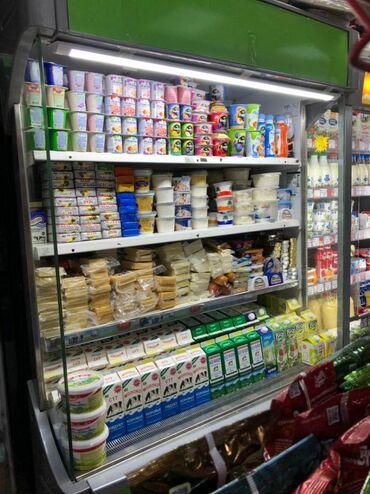 вита марине в Кыргызстан: Б/у Холодильник-витрина Зеленый холодильник