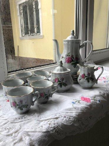 Чайный сервиз на 6 персон,500сом