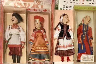 фарфоровая фигурка в Кыргызстан: Фарфор - Кукла #фарфор из серии: Страны мира - Беларусь в народном