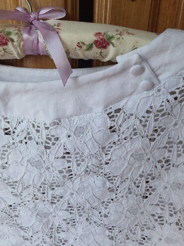 Haljine | Kovin: Lisca majica cipkana, elegantna za dame. Kao nova. Velicina 42