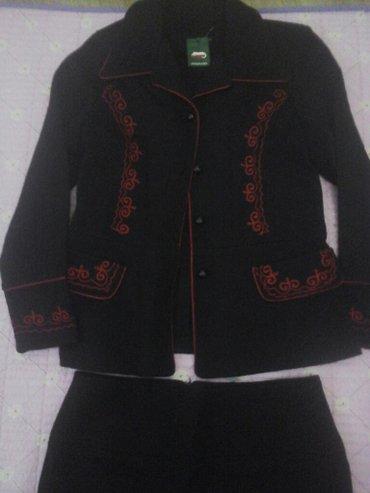 """Трикотажную двойку - Кыргызстан: Прод. жен. трикотажн. костюм юбка от фирмы """" илбирс"""" новое с"""