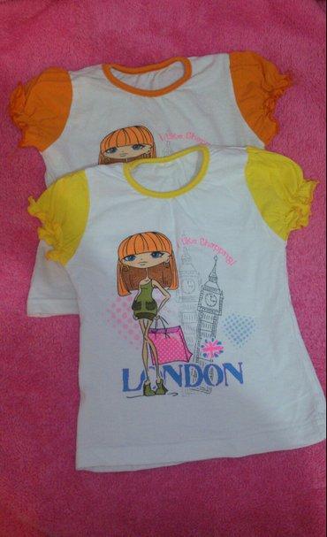 Детские футболочки для девочки. На 2, 3 годика. в Бишкек