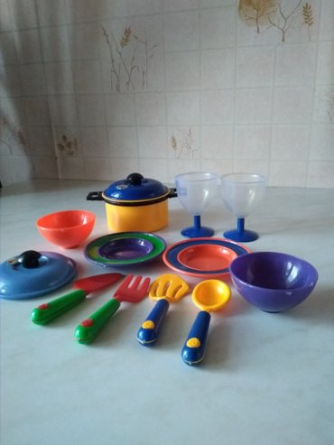 Набор игрушечный посуды. в Бишкек