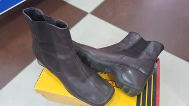 демисезонные кожаные полусапоги в Кыргызстан: Продаю кожаные ботинки размер 37отличном состоянии демисезонные