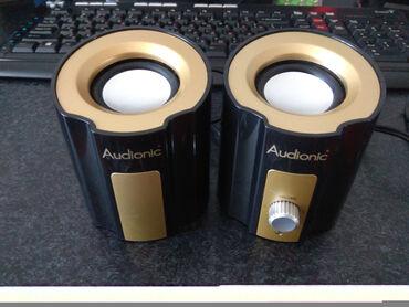 зарядное 5v в Азербайджан: Динамики настольныеFashion SpeakerAudionicAD07 - Black - Power 3 Watt