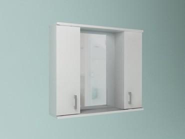 Шкаф навесной, 2 двери + зеркало, 1000, в Бишкек