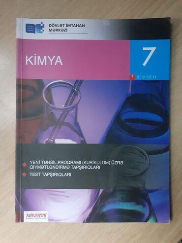 kimya - Azərbaycan: Dim Kimya 7ci sinif yeni kitabdir sevh alinib diye satilir oz