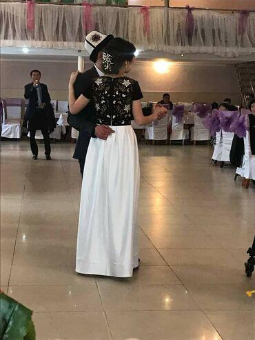 вечернее платье ручной работы в Кыргызстан: Национальное платье ручной работы, носили один раз, рост девушки 169