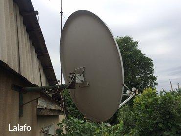 Спутниковая тарелка с головками и в Лебединовка