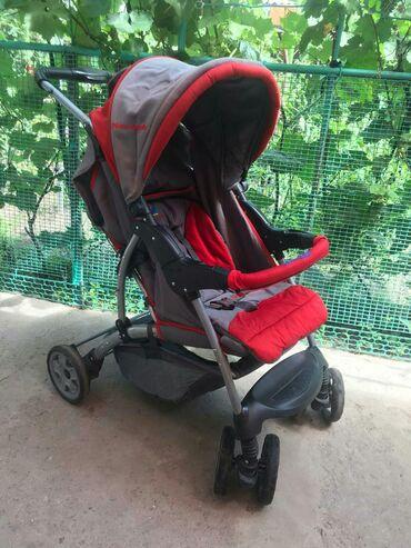 детская коляска складная в Кыргызстан: Продаю детскую коляску в хорошем состоянии.Складная, Отстегивается