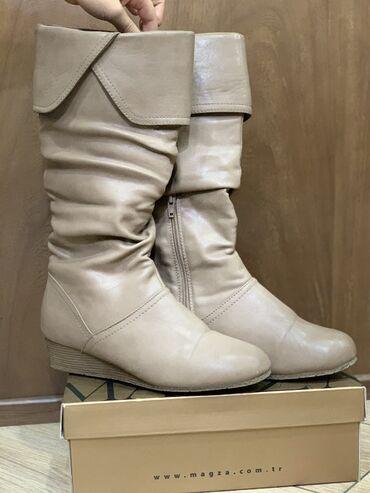 Продаю кожаные сапоги. Покупали в Турции Качество классноеочень акку