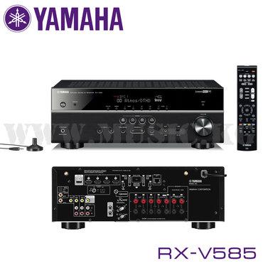Av-ресивер yamaha rx-v585исследуйте каждое пространствоdolby atmos® и
