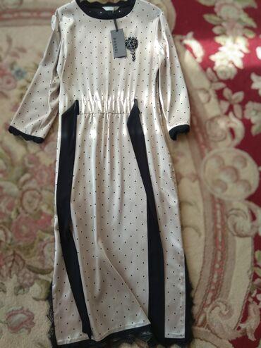 вечернее платье шелк в Кыргызстан: Продаю новое платье,шёлковое.размер м,Турция.Цена 3000