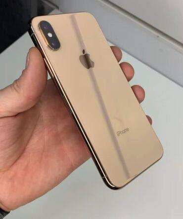 Apple Iphone - Бишкек: Б/У iPhone Xs 64 ГБ Золотой