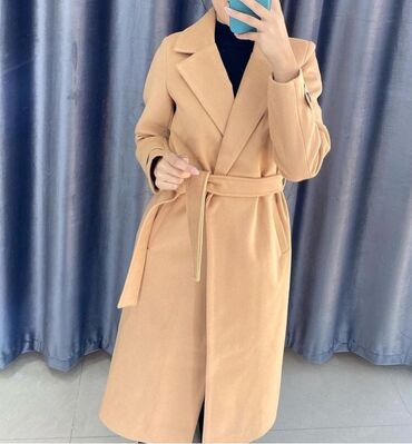 Продаю пальто  Цвет кемел  Размер 42-44 Длина-ниже колен