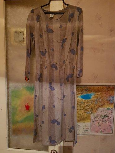 Платье вессеньнее тонкая ангора размер 46 в Бишкек