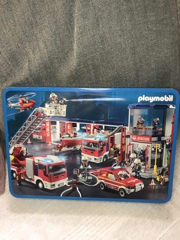 Playmobil puzzle u metalnoj kutiji - 100 - Belgrade