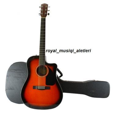Bakı şəhərində FENDER akustik gitara Model: CD 60 CE