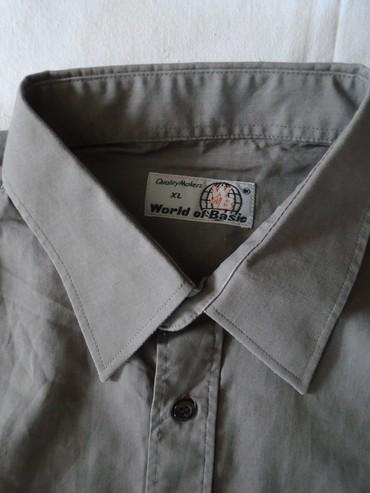 Muška košulja kratkih rukava World of basic, očuvana, XL veličine - Belgrade