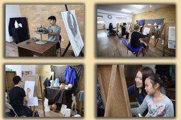узор для наволочки спицами в Кыргызстан: Курсы рисования БишкекСтудия «сейталиев» - рисунок, живопись