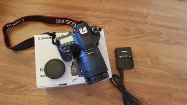 Canon EOS 80D Цифровая зеркальная камера W/EF-S 18-135mm объектив в Овчи
