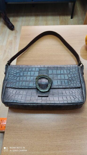 веб камеры ручная фокусировка в Кыргызстан: Кожаная сумка ручной работы. Очень мягкая кожа, удобная. Размер не